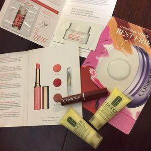 Clinique bundle - Black Honey lipstick, gel cream
